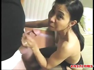 Grandpa fucks Asian Girl