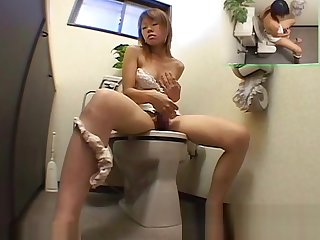 Young Ladies Acquiring Into Toilet Onanism