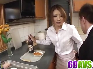 Hibiki Ohtsuki tries cock in - Thither on tap 69avs.com