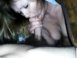 Fuck Russian mature old woman at home