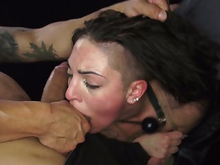 Brutal dude drills mouth added to pussy of predestined close by hooker Rachael Madori