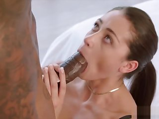 BLACKED Unsatisfied Girlfriend Cant Cock a snook at BBC