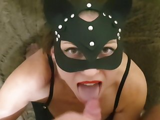 Fetish fuck with the addition of hot cum on face in the fall