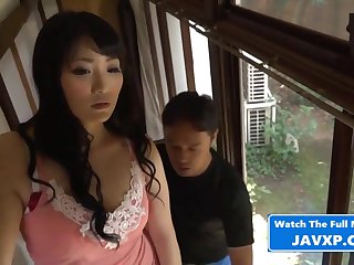 Asian Mommy With Steamy Repairman - dam
