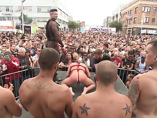 Gay parade added to anal orgies for be transferred to naughty twinks