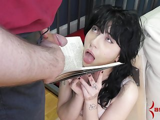 Caged amateur forced fucked and made hither go for