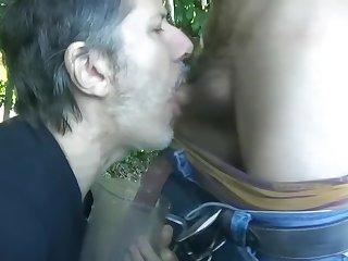 Brutal meada en dampen boca haciendo cruising