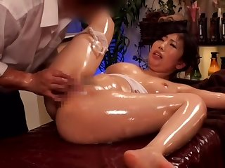 Asian, Brunette, Japanese, Massage,
