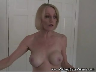 Wicked Sexy Melanie is a real amateur granny battle-axe here. We love her dissolute ways.
