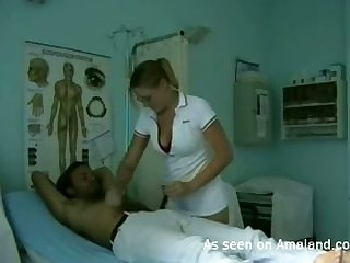 This hot nurse knows how to cure me increased by her lovemaking game looks to be on point