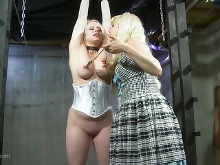 Ass punitive measures tits goading lesbian femdom beyond everything cam