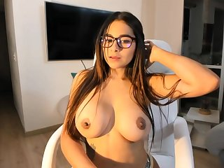 Big-Boobed black-haired says that she is a junior sista be fitting of Mia Khalifa, just a bit hornier
