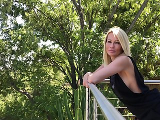 Popular porn actress Jessica Drake gives an interview