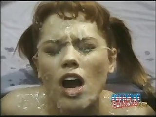 Gust Ejaculation - Retro Bukkake Video