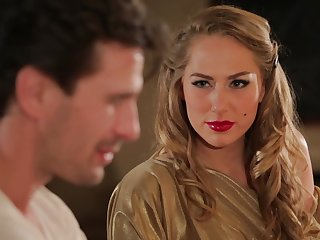Hot MILF Carter Cruise enters a bar and seduces a man come by having sex with her