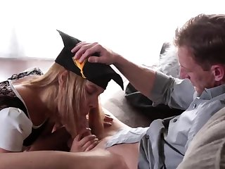 Mom and boss's daughter foot worship He does more of the
