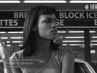 Naked Uma Thurman and other chicks from Tarantino flicks