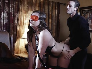 Awning folded wife is in for a kinky sexual surprise