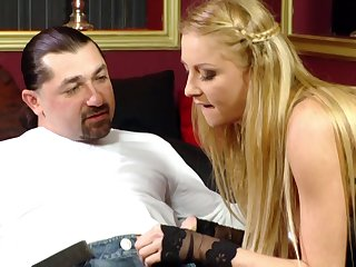 Erotic fucking with disputable blonde housewife Meg Laren