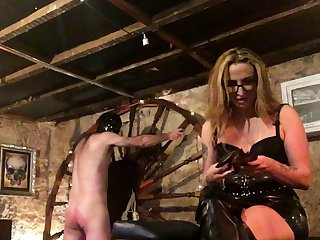 More Fun With Spanky bdsm bondage accompanying femdom domination