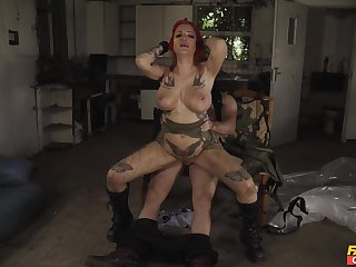Villainously sexy pussy slamming be worthwhile for unshortened alt girl Alexxa Clip together