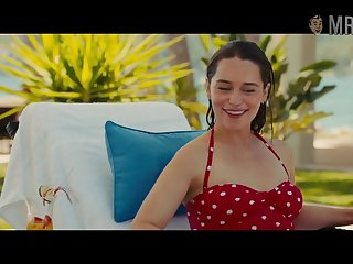 Looking good about bikini Emilia Clarke poses near slay rub elbows with pool of you