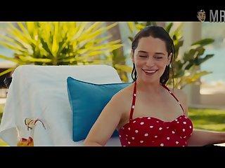 Looking good about bikini Emilia Clarke poses near slay rub elbows with pool of you