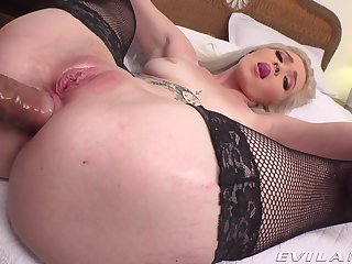 Non-professional POV vaginal and anal for young Kay