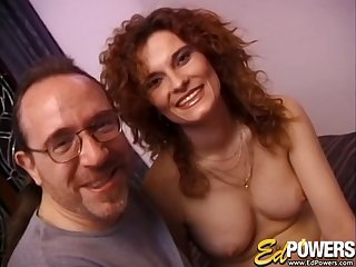 Amateur wife Lenka loves playing with the brush pussy and having sex