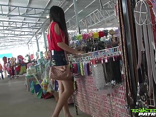 Sex-appeal Filipina girl Bew shows striptease to one stranger man