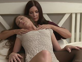 Smooth lesbian sex in the between Magdalene St. Michaels & Maddy O'Reilly