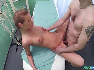 Fantastic sex with the doctor that being the case slim amateur