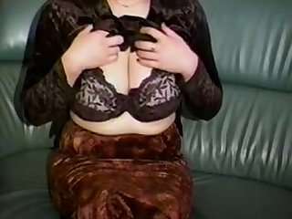 Horn-mad a bit plump amateur cam MILF plays not far from say no to huge knockers
