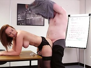 Lovely Candi Blows sucks off her king and gets fucked from behind