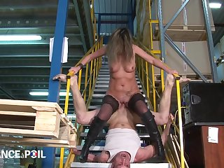 Older Factory Owner Fucks Duo Ground-breaking Workers Caught Jerk