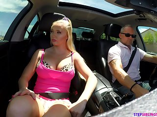 Sporty and devil-may-care jogger Paisley Porter seduces dude for random sex