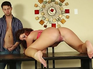 Provocative model Savannah Lucifer gets fucked in her wet cunt
