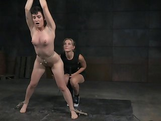Sensual torture session with pornstars Joey Minx and Mona Wales