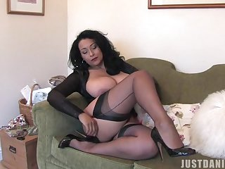 Homemade solo video of busty join in matrimony Danica Collins having some fun