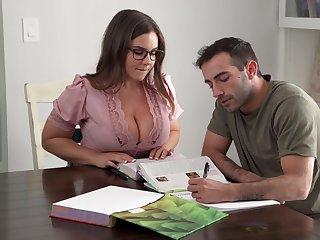 Its Immutable To Stay Intend When You Got A Busty Teacher - Natasha Nice