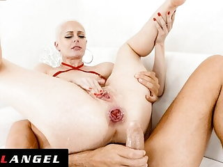 EvilAngel - Sidra Sage Gapes & Squirts From Anal Orgasms