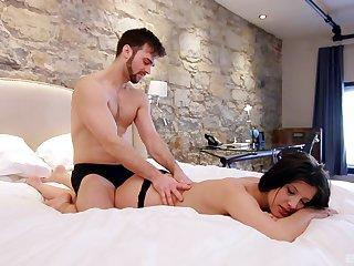 Adorable Amanda Bellucci and say no to BF enjoy during smooth lovemaking